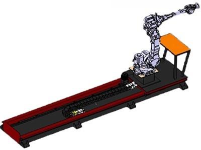 库比克机器人行走轴 第七轴 直线滑台导轨
