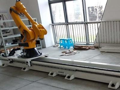 供应库比克机器人行走轴 第七轴 直线滑台导轨